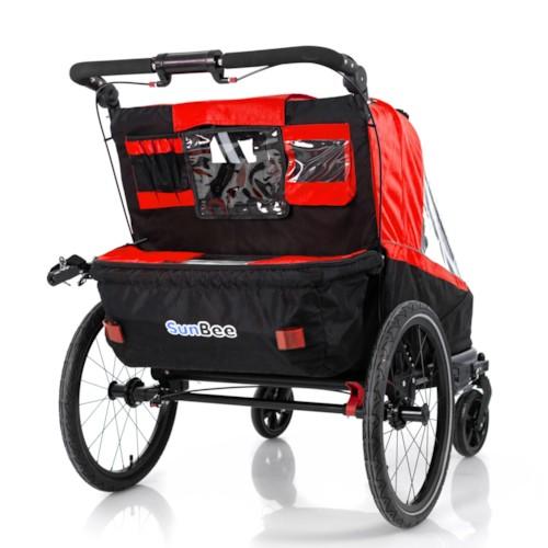 Cykelvagn SunBee Beetle - Röd