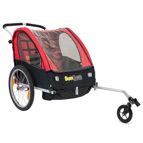 Cykelvagn SunBee Cruiser - Röd/Svart