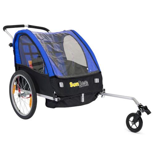 Cykelvagn SunBee Cruiser - Blå/Svart