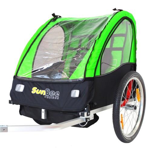 Cykelvagn SunBee Cruiser - Grön/Svart