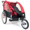 SunBee Cruiser Stroller - SVART/RÖD