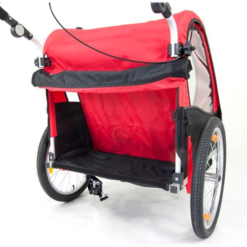 SunBee Cruiser Stroller - SVART/BLÅ