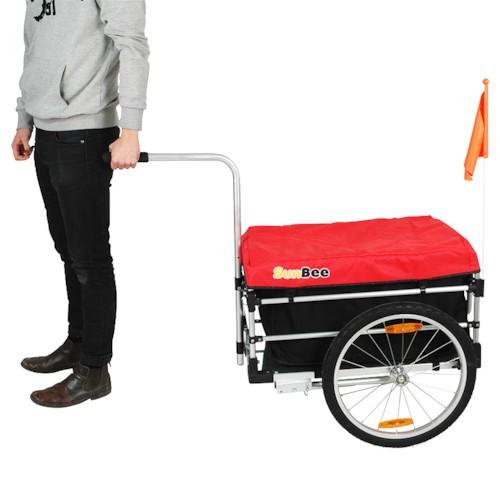 Cykelvagn SunBee Montana Plus V2 - Röd