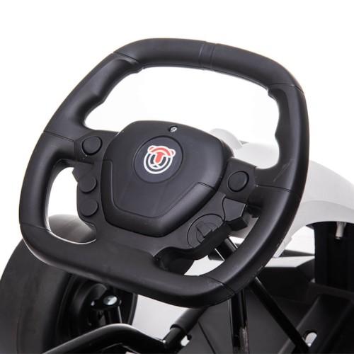 Elbil Gokart Drifter 24V - Vit