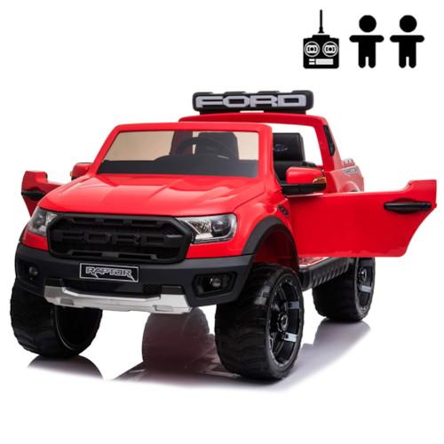 Elbil Ford Ranger Raptor 12V - Röd