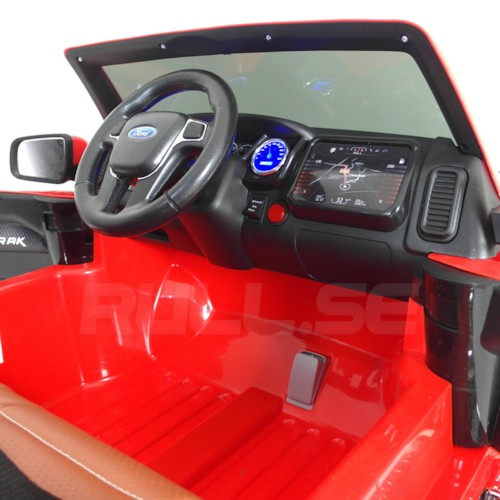 Elbil Ford Ranger EVA 12V - Röd