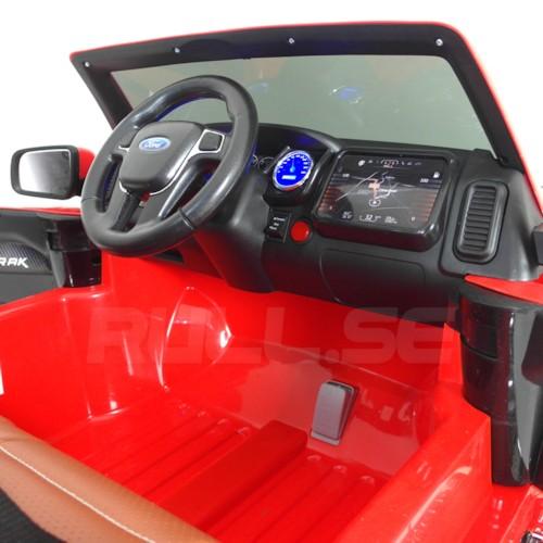 Elbil Ford Ranger EVA V2 12V - Röd