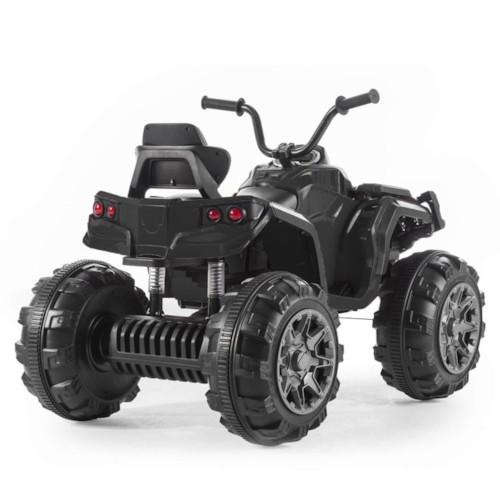 Elbil fyrhjuling Revenger R/C - Svart