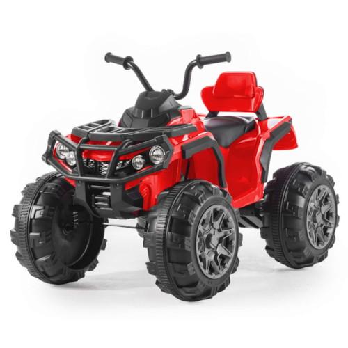 Elbil fyrhjuling Revenger R/C - Svart/Röd