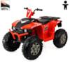 Elbil fyrhjuling Avenger 12V - Svart/Röd