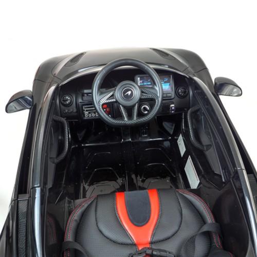 Elbil McLaren 720S 12V - Svart