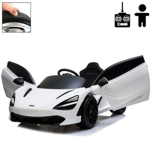 Elbil McLaren 720S 12V - Vit