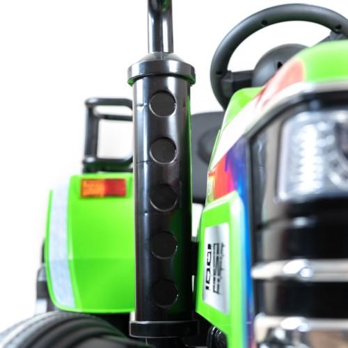 Elbil barn Traktor Harris 12V - Grön