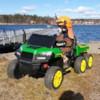 Elbil Truckster 4WD tvåsits 12V - Grön