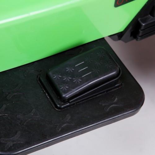 Elbil Grävmaskin 6V - Grön