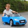 Elbil Audi TT RS - VIT