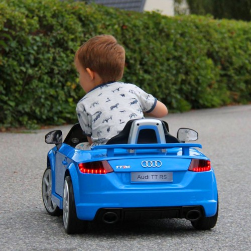 Elbil Audi TT RS - RÖD