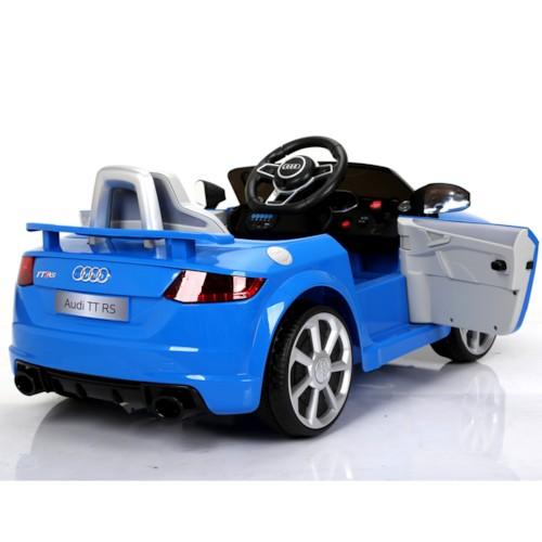 Elbil Audi TT RS - BLÅ