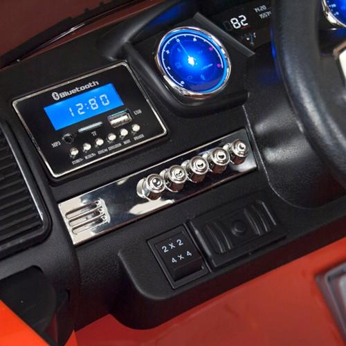 Elbil Ford Ranger Super Cab 4x4 - Orange