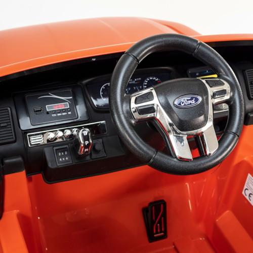 Elbil Ford Ranger Monster Truck 4WD 12V - Orange