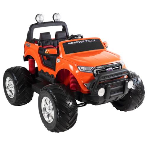 Elbil Ford Ranger Monster Truck 4WD 12V - Vit