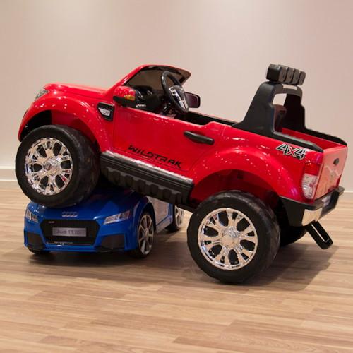FYNDEX - Elbil Ford Ranger Super Cab 4x4 Röd