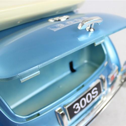Elbil Mercedes 300S Classic 12V - Ljusblå metallic