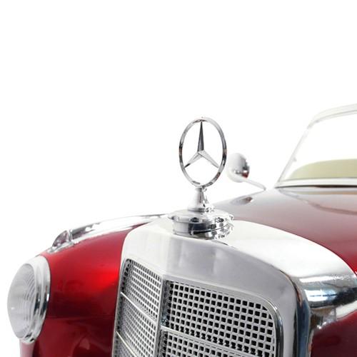 Elbil Mercedes 300S Classic 12V - Vinröd metallic