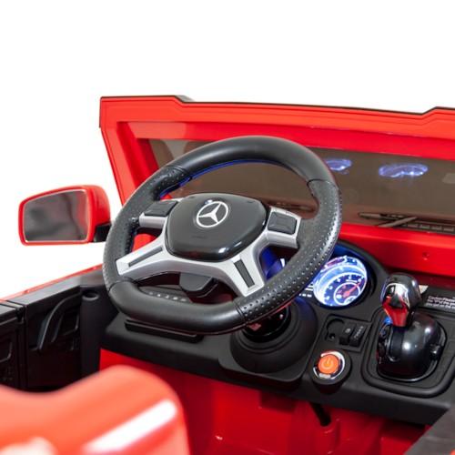 Elbil Mercedes G63 6x6 12V - Röd