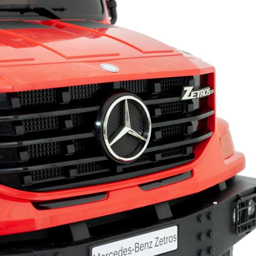 Elbil Mercedes Benz Zetros 24V - Röd