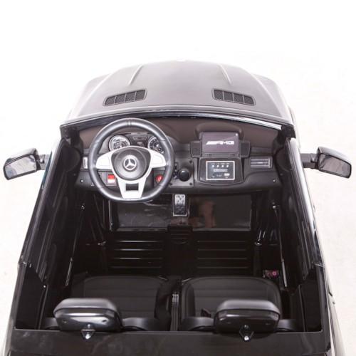 Elbil Mercedes GLS 4MATIC 12V - Svart