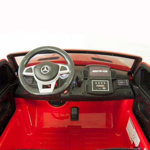 Elbil Mercedes GLS 4MATIC 12V - Röd