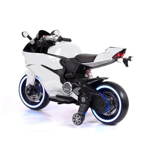 Elbil Motorcykel Sport R600 12V - Vit
