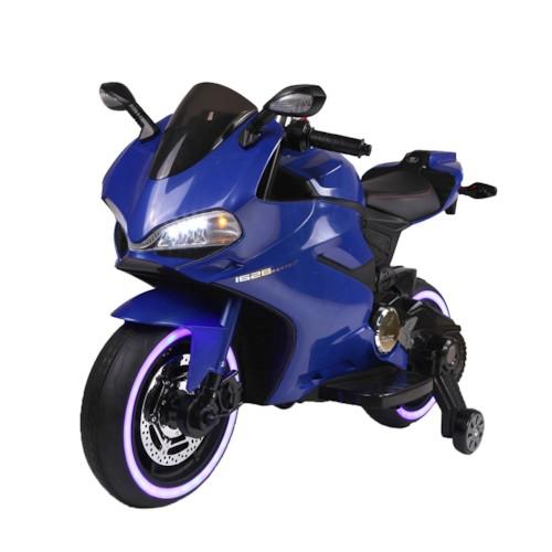 Elbil Motorcykel Sport R600 12V - Blå