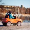 Elbil Pickup 4WD 12V - Svart