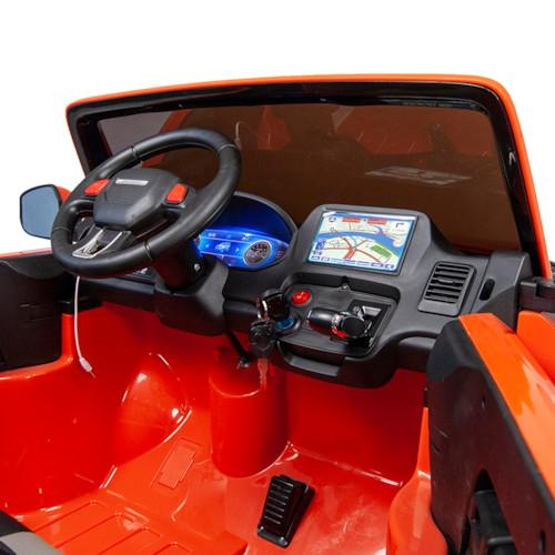 Elbil Pickup 4WD 12V - Orange