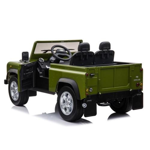 Elbil Land Rover Defender - Grön