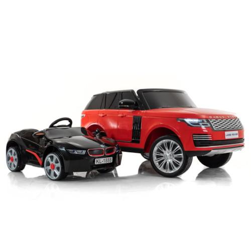 Elbil Land Rover Range Rover - Röd