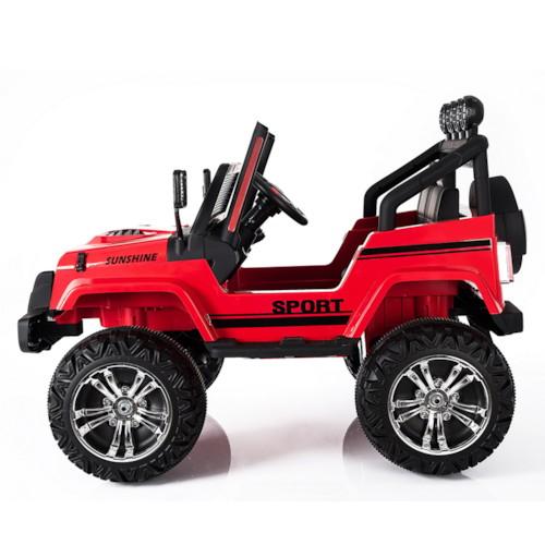 Elbil Trakker 4x4 12V - Röd