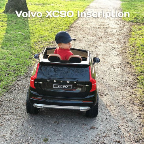 Elbil Volvo XC90 Inscription 12V - Onyx Black