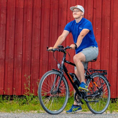 HUVUDLÅDA EvoBike SPORT-8 250W 2020 - Blå, herr