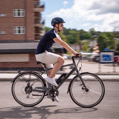 HUVUDLÅDA EvoBike SPORT-8 500W 2020 - Blå, herr