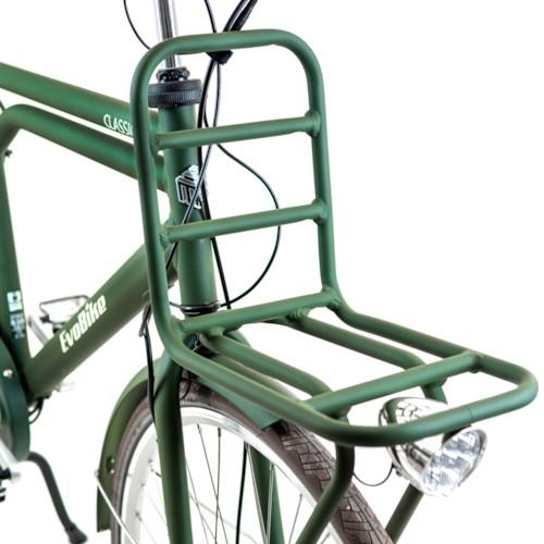 HUVUDLÅDA EvoBike CLASSIC-7 250W 2020 - Matt olivgrön, herr