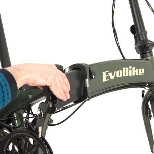 HUVUDLÅDA EvoBike Travel 2020, Hopfällbar - Vit