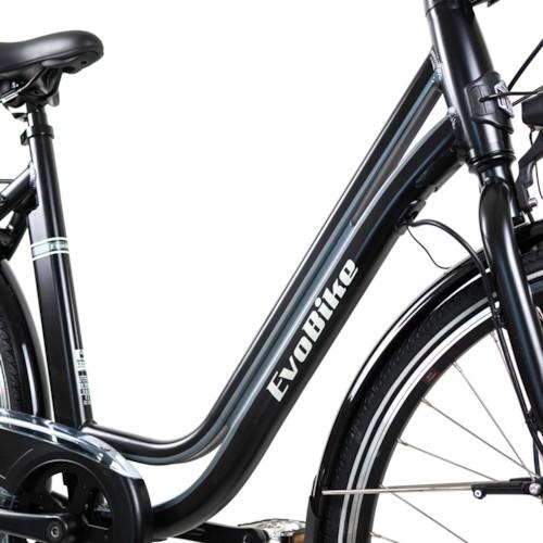 FYNDEX - Elcykel EvoBike ECO-3 250W - Mattsvart, dam 2019