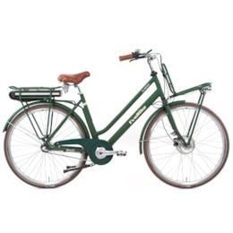 FYNDEX - Elcykel EvoBike CLASSIC-7 250W 2020 - Matt olivgrön, dam