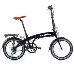 FYNDEX - Elcykel EvoBike Travel 2020, Hopfällbar - Svart