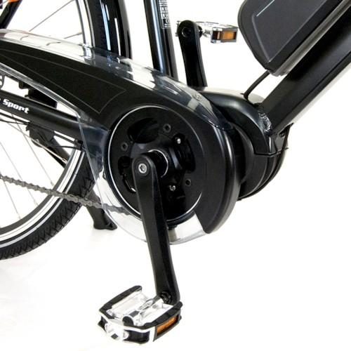FYNDEX - Elcykel EvoBike SPORT-8 Mid-Drive 250W 2020 - Grå, herr