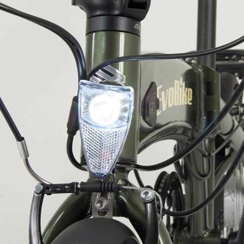 FYNDEX -Elcykel EvoBike Travel 2020, Hopfällbar - Svart