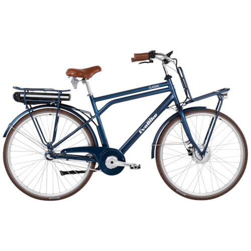FYNDEX -Elcykel EvoBike Classic-3 250W 2021 - Blå, Herr